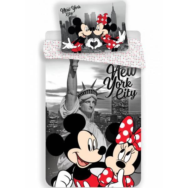 Minnie Mouse New York Szerelem Ágynemű