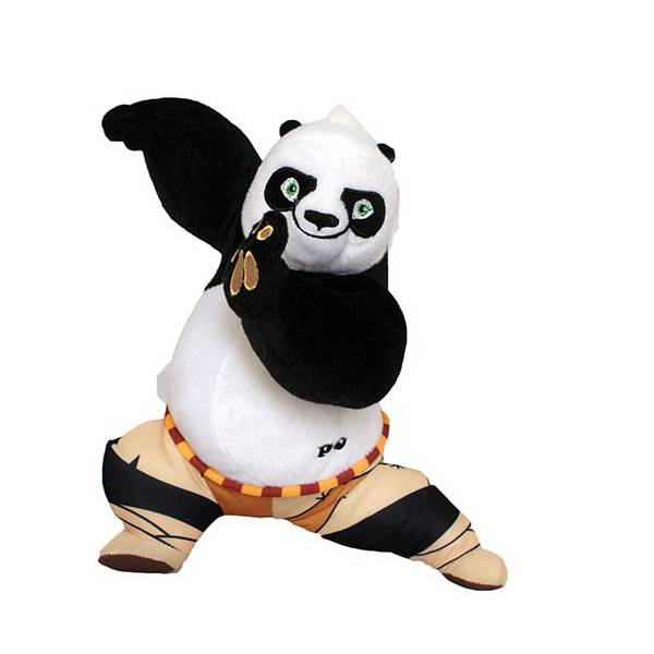 Kung Fu Panda Po Plüss 25 cm-es