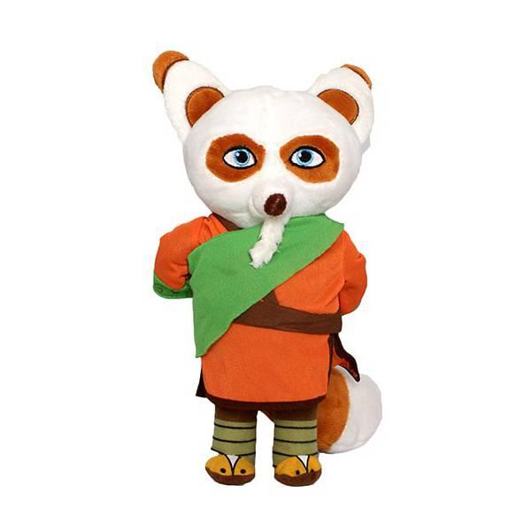 Kung Fu Panda Shifu Mester Plüss 25 cm-es