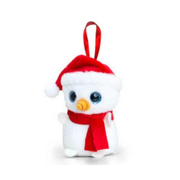 Hóember Karácsonyi Dísz 10 cm