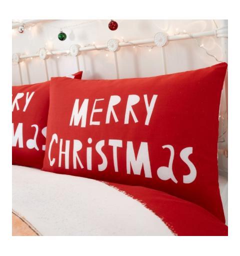 Santa Claus and Deer Bedding