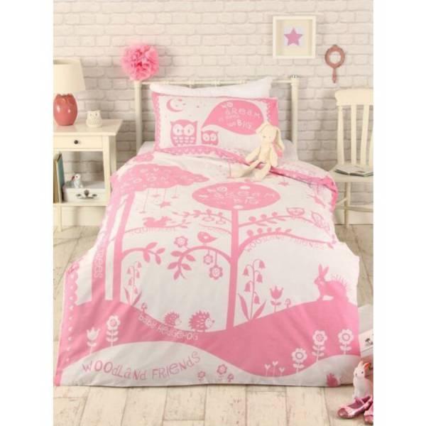Bagoly Rózsaszín Ágynemű