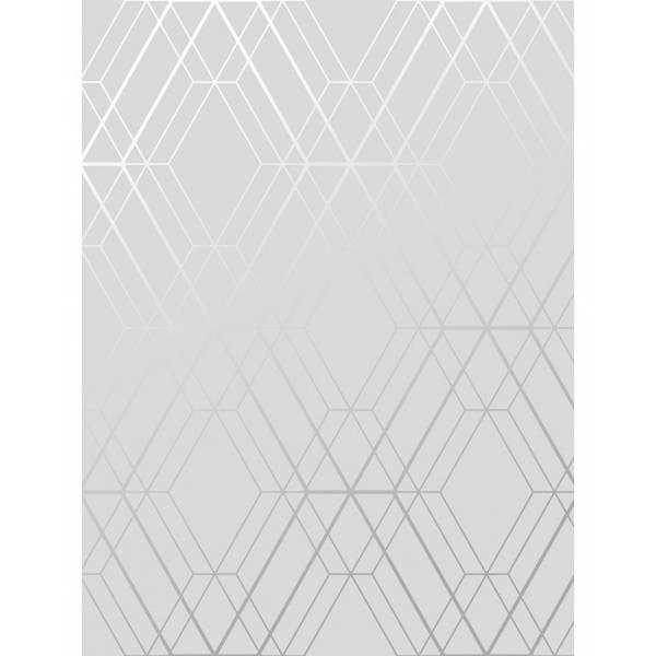 Geometriai Silver Tapéta