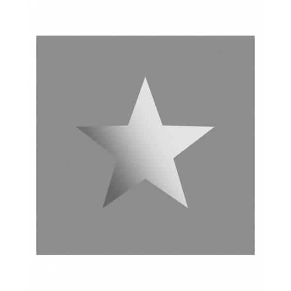 Szürke Csillag Mintás Tapéta