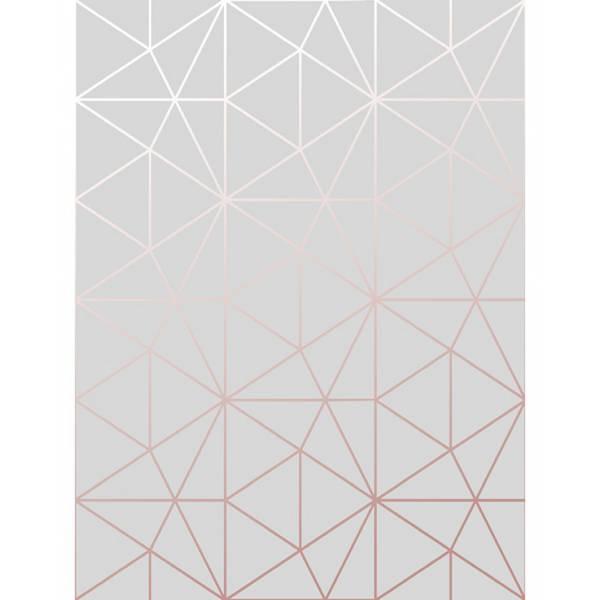 Szürke Geometriai Háromszög Tapéta