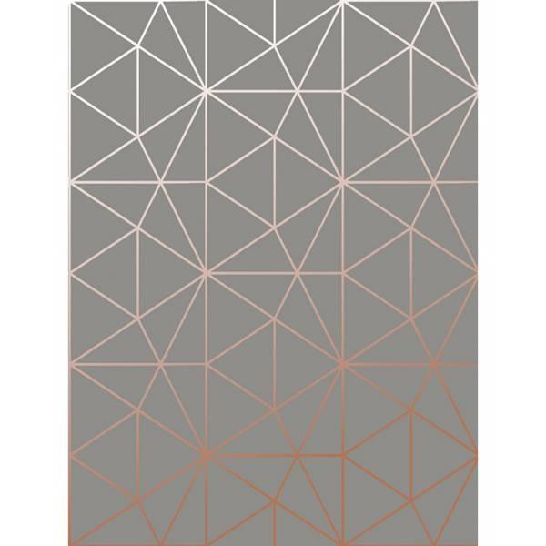 Rose Gold Geometriai Tapéta