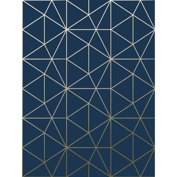 Réz Geometriai Tapéta