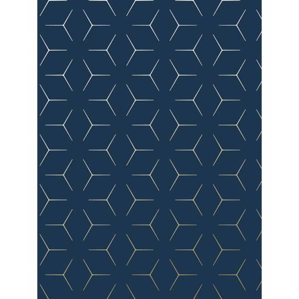 Kék Geometria Tapéta