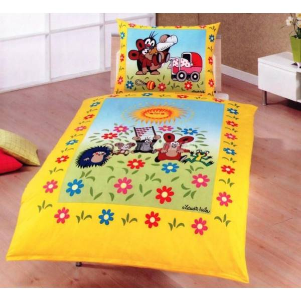 Little Mole - Garden Duvet