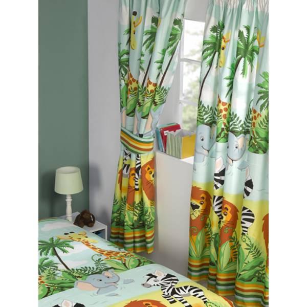 Dzsungel függöny