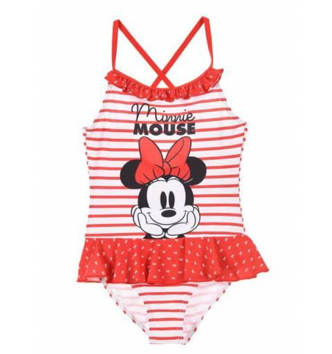 Minnie Mouse Piros Fodros  Fürdőruha