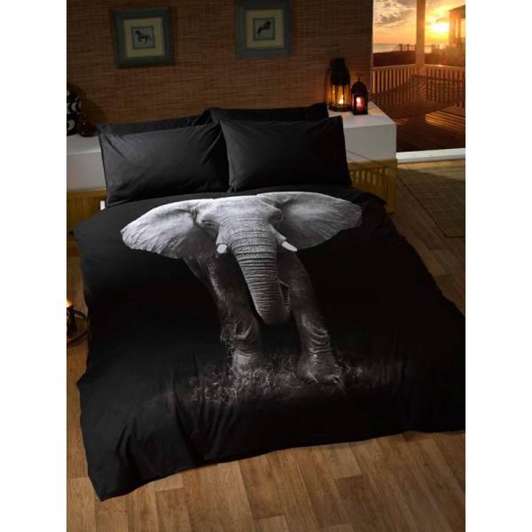 Black Elephant Bedding
