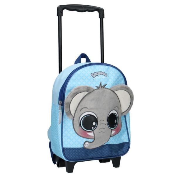 Elefántos Gurulós Bőrönd