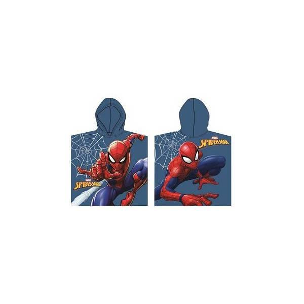 Spiderman- Child Poncho