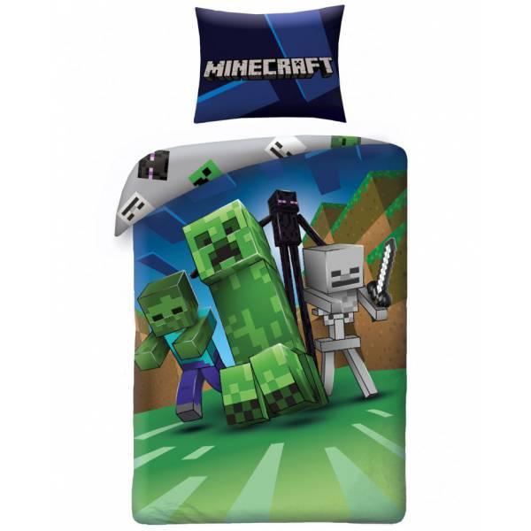 Minecraft Enderman Pamut Ágynemű