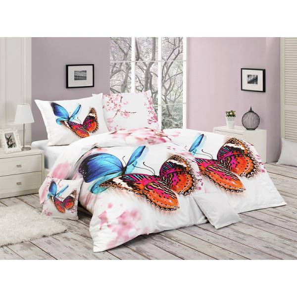 Colorful Butterfly Bedding
