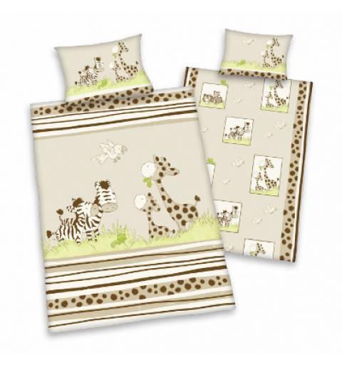 Giraffe Beige Junior Bedding