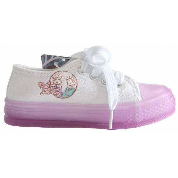 Disney Frozen Purple Girl Gym Shoes