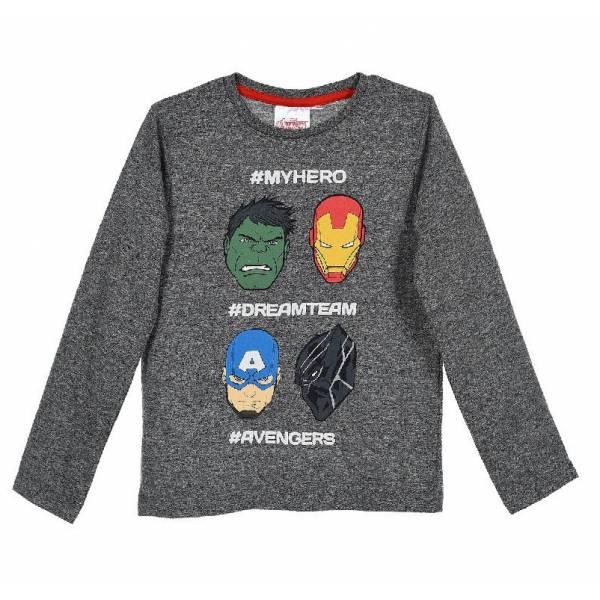 Marvel Kids Superhero Pattern Pullover