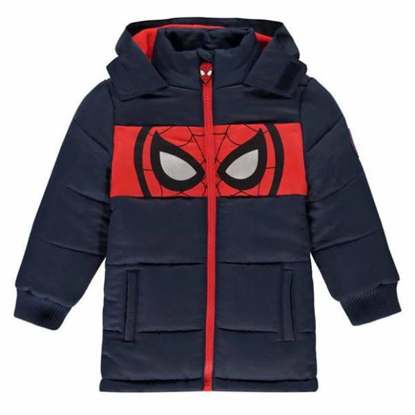 Pókember Gyerek Téli Kabát