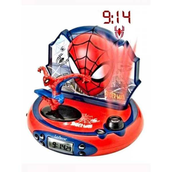 Spiderman - Radio and Projector Clock