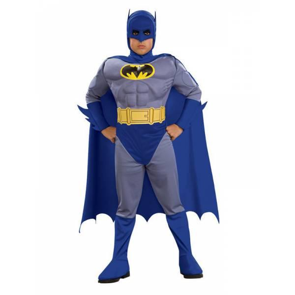 Batman Szürke Kitömött Idomú Jelmez