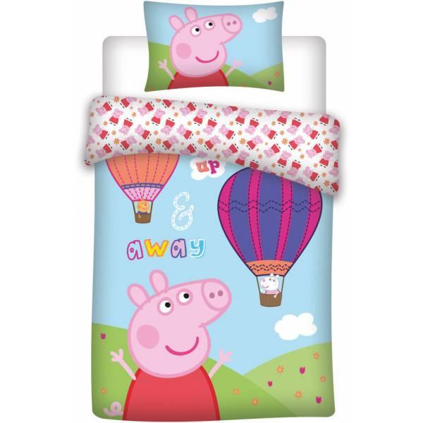 Peppa Pig Pink Junior Duvet Set