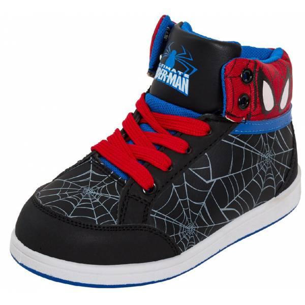 Spiderman Kids High Heel Street Shoes