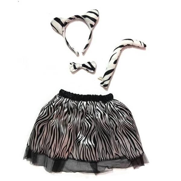 Zebra 4 db-os jelmez...