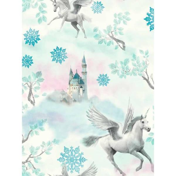 Blue Pegasus Wallpaper