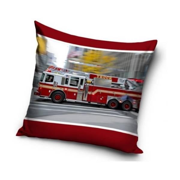 Tűzoltóautós Párna