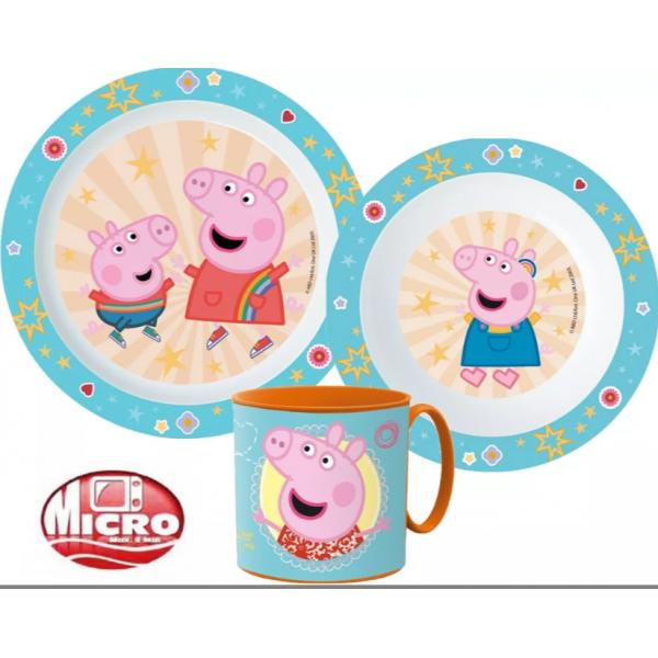 Peppa Pig  Dinnerware Set