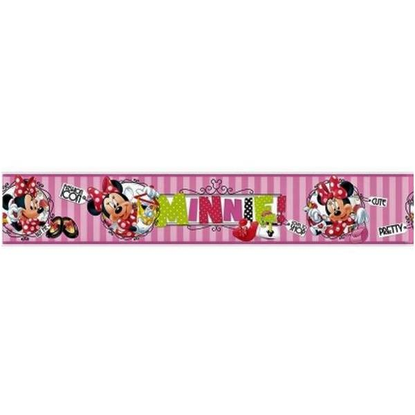 Minnie Mouse Pink Border