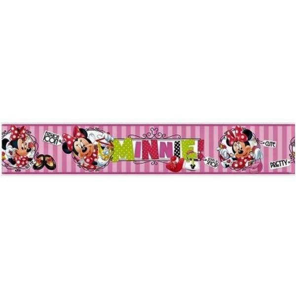 Minnie Mouse Rózsaszín Bordűr