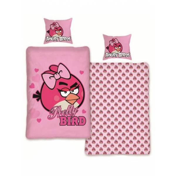 Angry Birds Rózsaszín Ágynemű