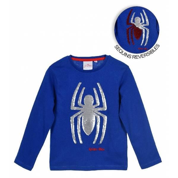 Spiderman Simítós Kék Pulóver