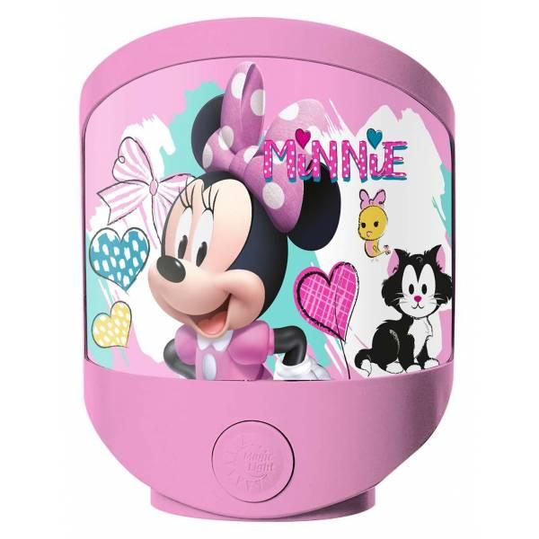 Minnie Mouse Éjjeli Lámpa