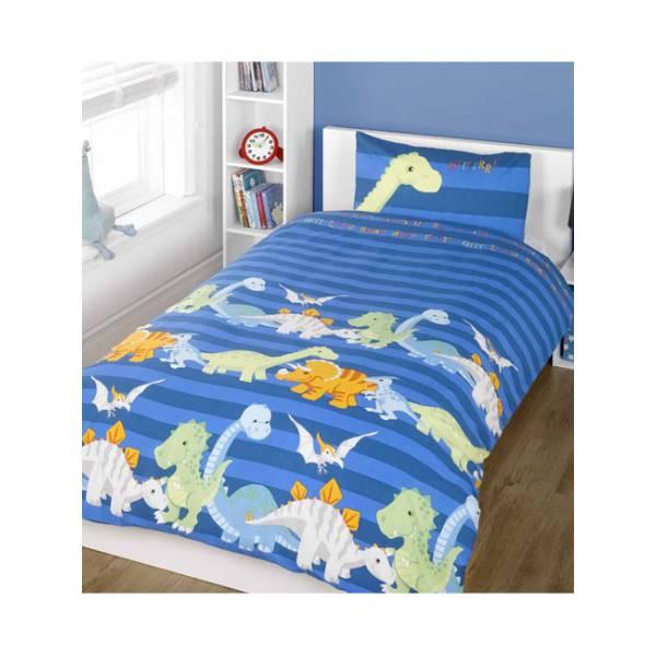 Kék Dinoszaurusz Ágynemű