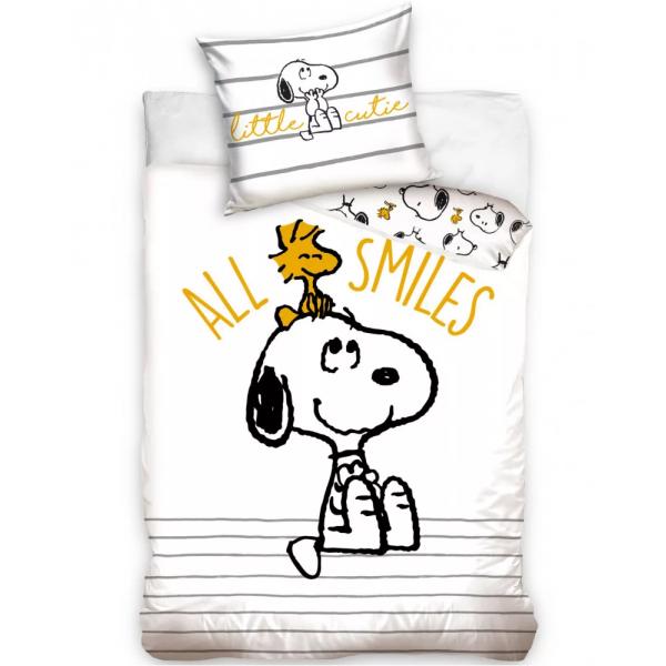 Snoopy Fehér Ágynemű