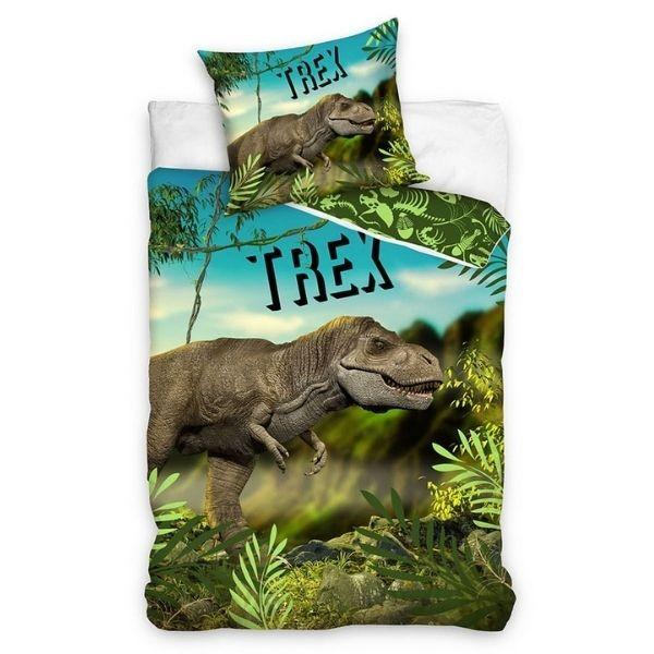 Dinoszaurusz T-Rex Ágynemű