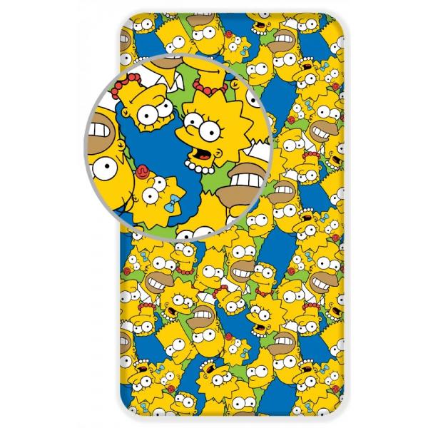 Simpson Család Gumis Lepedő