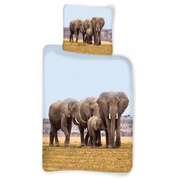Elefántos Pamut Ágynemű