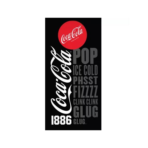 Coca-Cola Pamut Törölköző