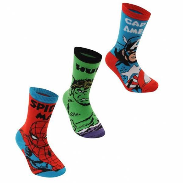 Marvel Superheroes Patterned Socks