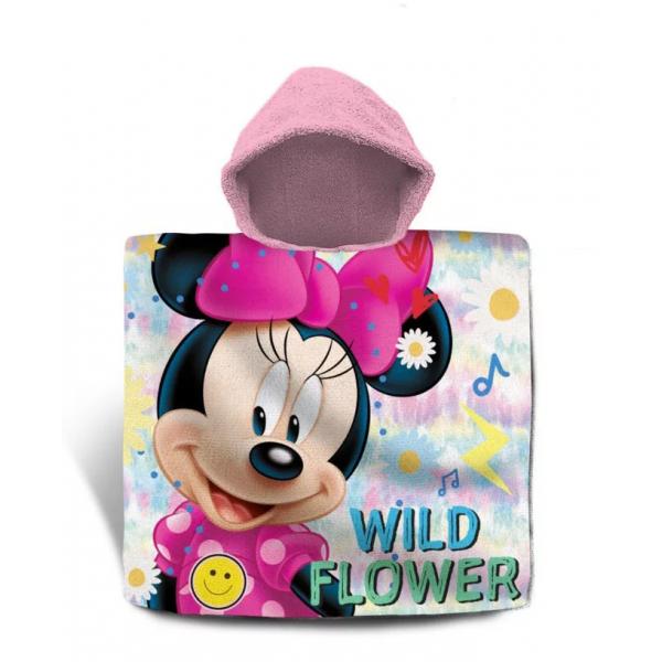 Minnie Mouse Fürdő Poncsó