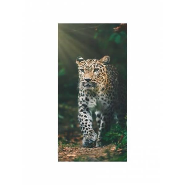 Leopárdos törölköző