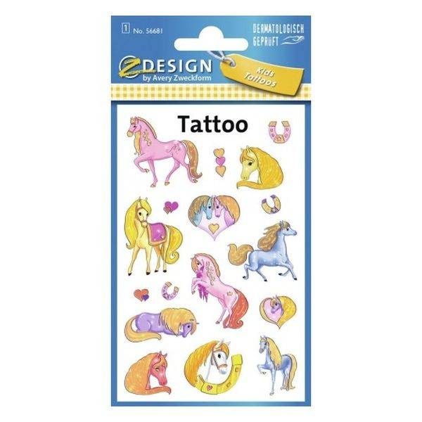 Lovas Tetoválás Matrica