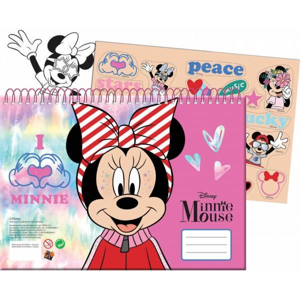 Minnie Mouse 40 lapos...