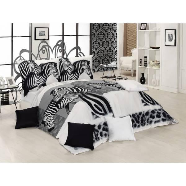 Zebra Steppelt Ágytakaró