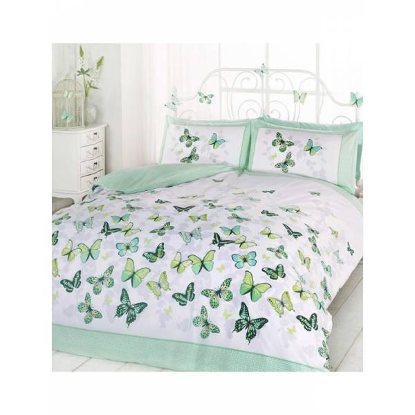 Green Butterfly Bedding